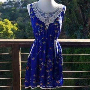 Dresses & Skirts - Easter hummingbird dress- SPRING